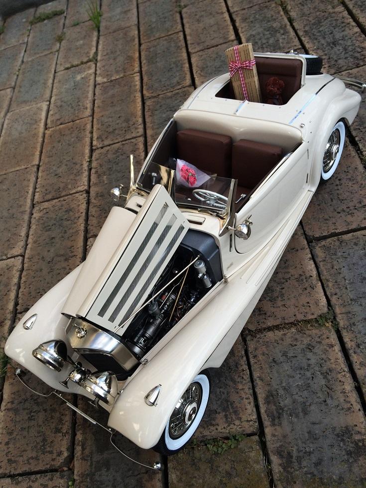 Pocher 1/8 Mercedes-Benz540K