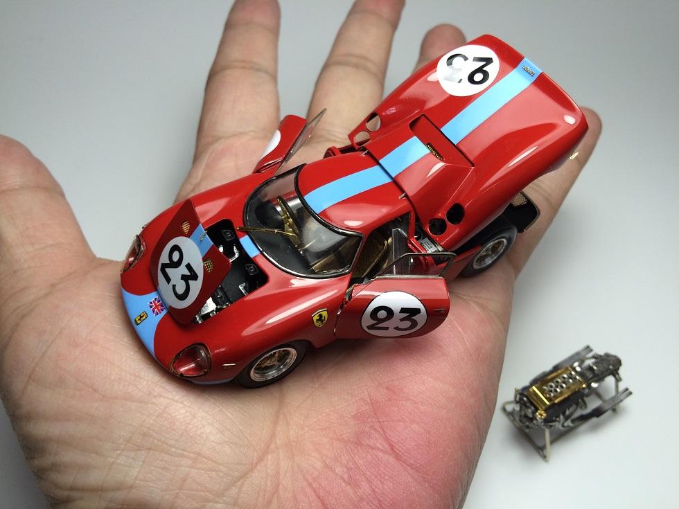 Ferrari 250 LM フェラーリ250LM メイクアップ 1/43