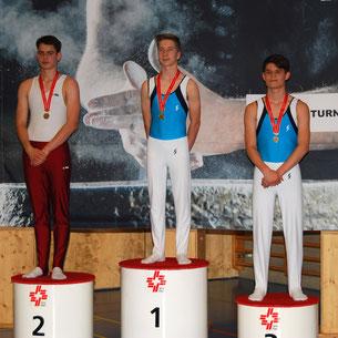 Benjamin Bissel 1er et Maxime Oberholzer 3e