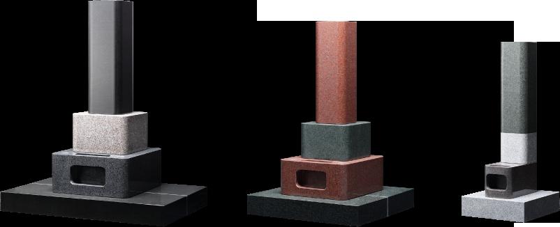 深谷石材店:角の丸いお墓