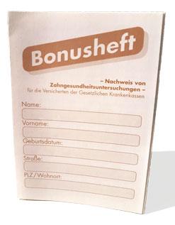 Bonusheft: Bares Geld bei Zahnersatz sparen durch regelmäßige Untersuchungen beim Zahnarzt (© Doc S)