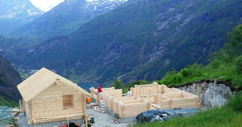 Casas de madera. Construcción pasiva y  biopasiva.