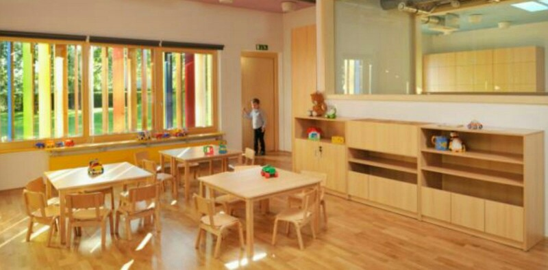 guarderías de madera de diseño