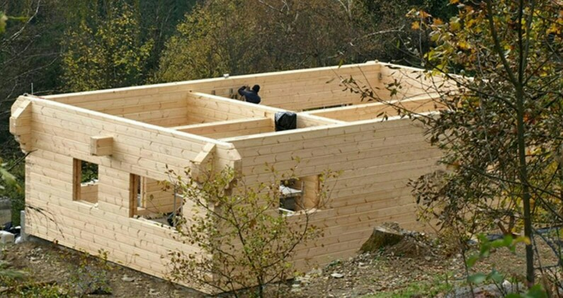 Casas de madera. Construcción biopasiva y pasiva.