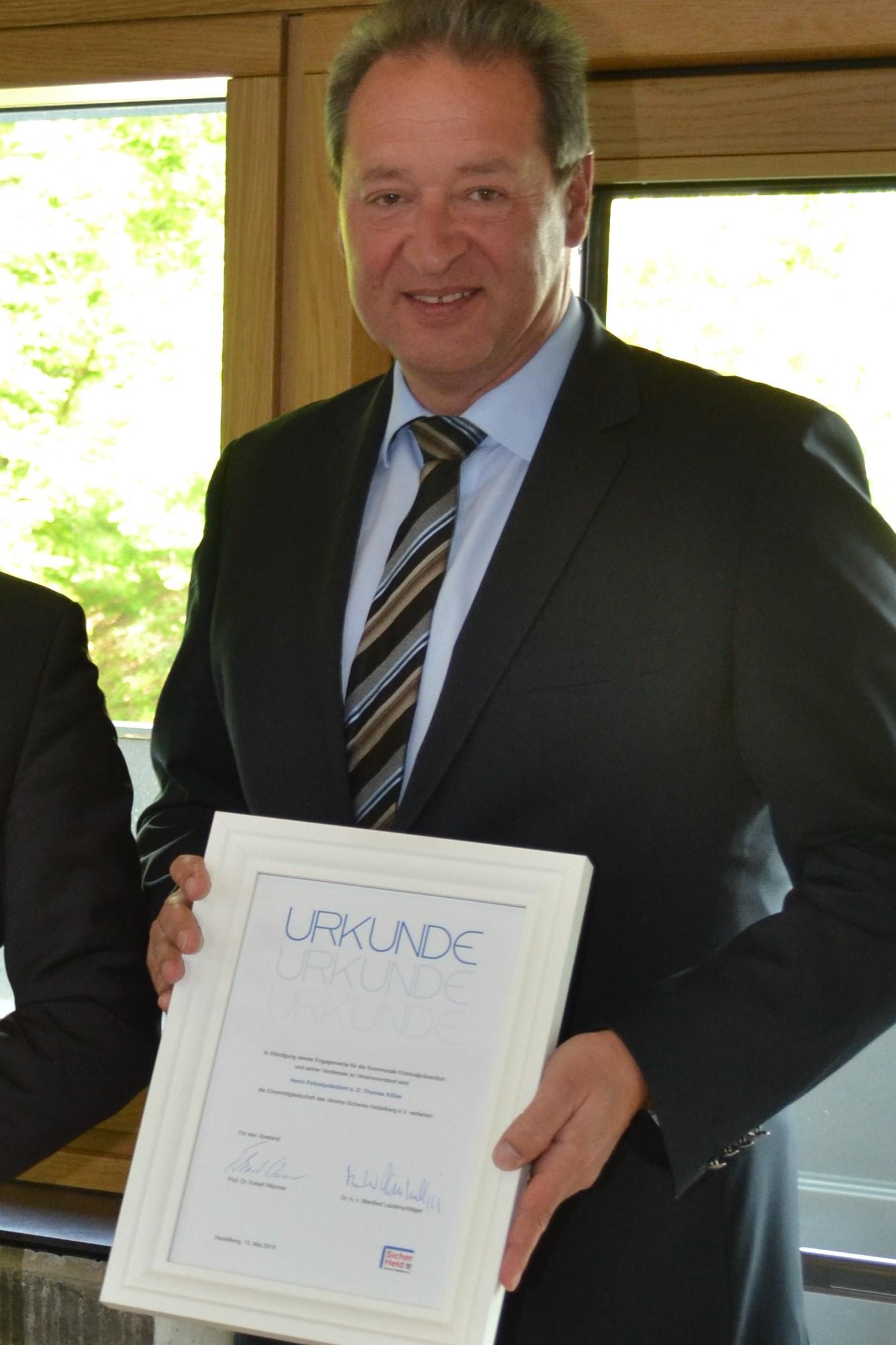 Ehrenmitglied Polizeipräsident a. D. Thomas Köber