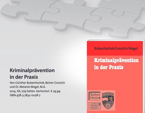 Das Fachbuch zur Kriminalprävention!