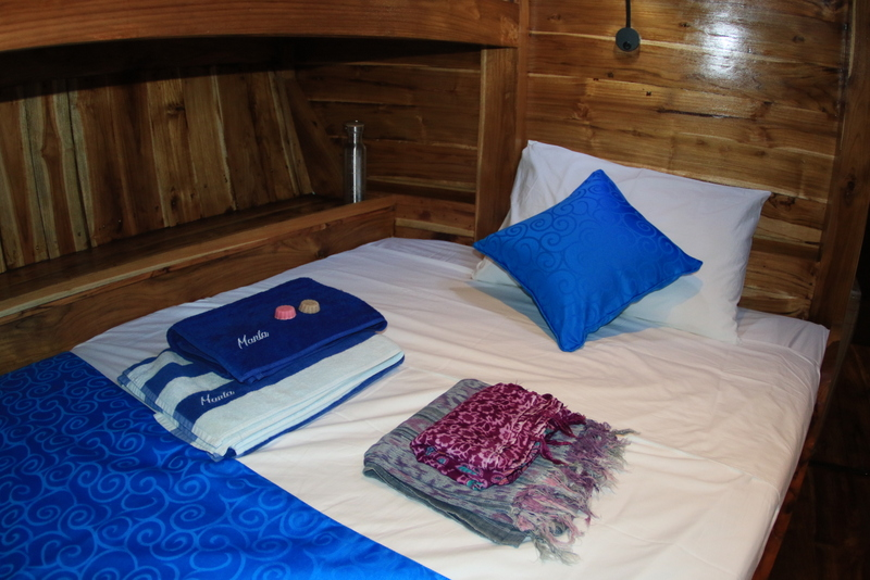 TidakApa'Pa new twin cabin : Lower Bed