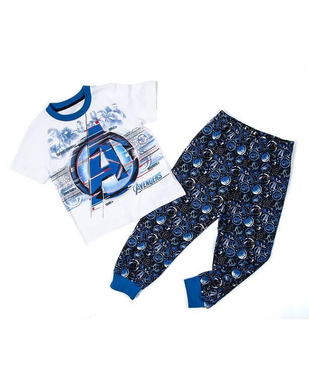 Pijama Avengers azul          Talla: 8         Precio: $17,00