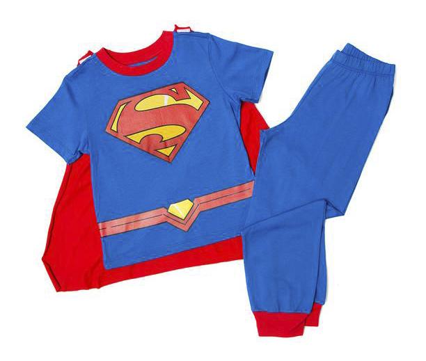 TALLA: 2       PRECIO: $17,00      PRENDA: PIJAMA CON CAPA SUPERMAN