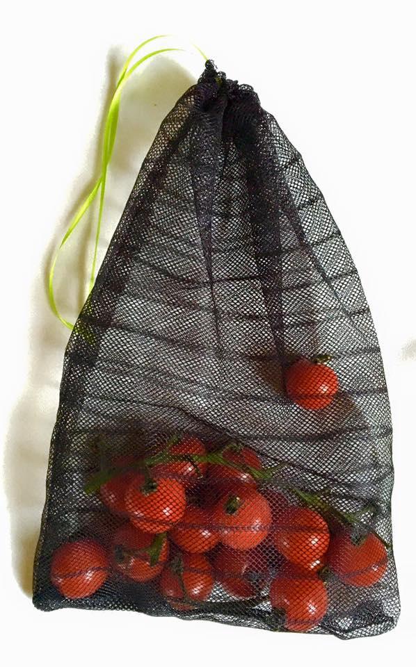 Plastik vermeiden durch selbstgenähte Gemüsebeutel