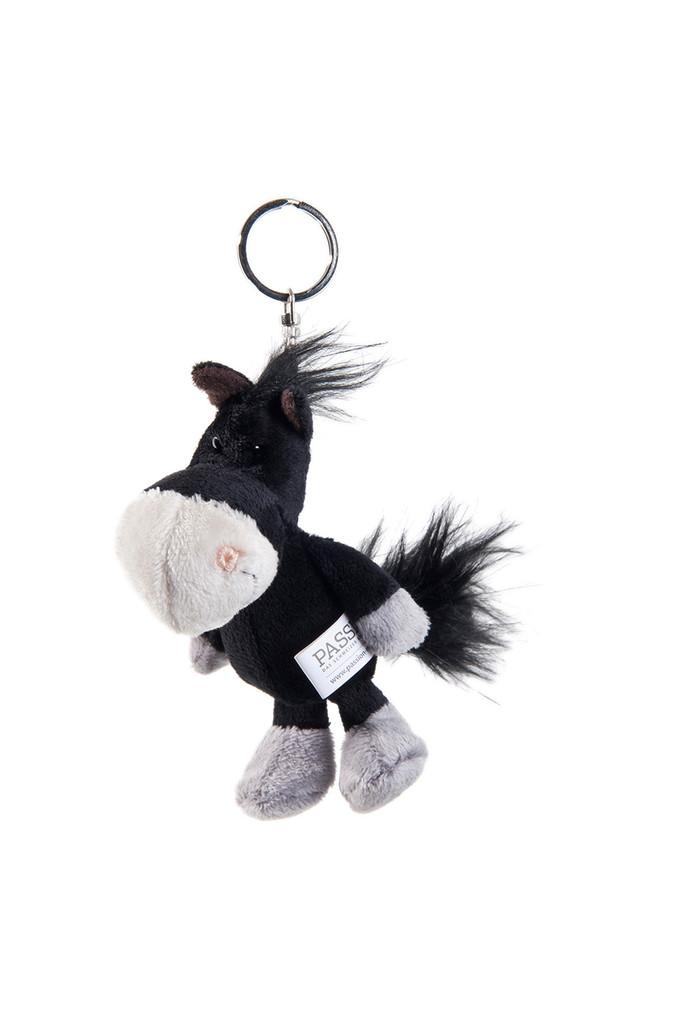 Schlüsselanhänger Rössli schwarz