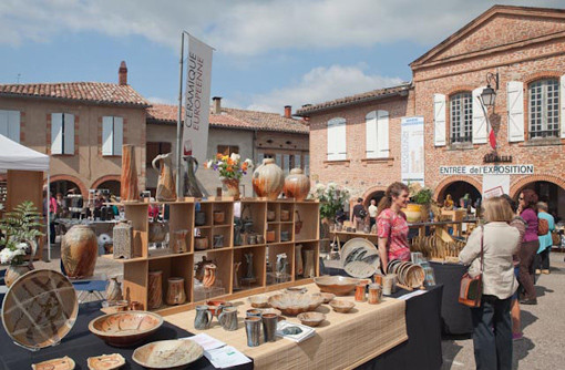 Marché Européen de la céramique à Giroussens