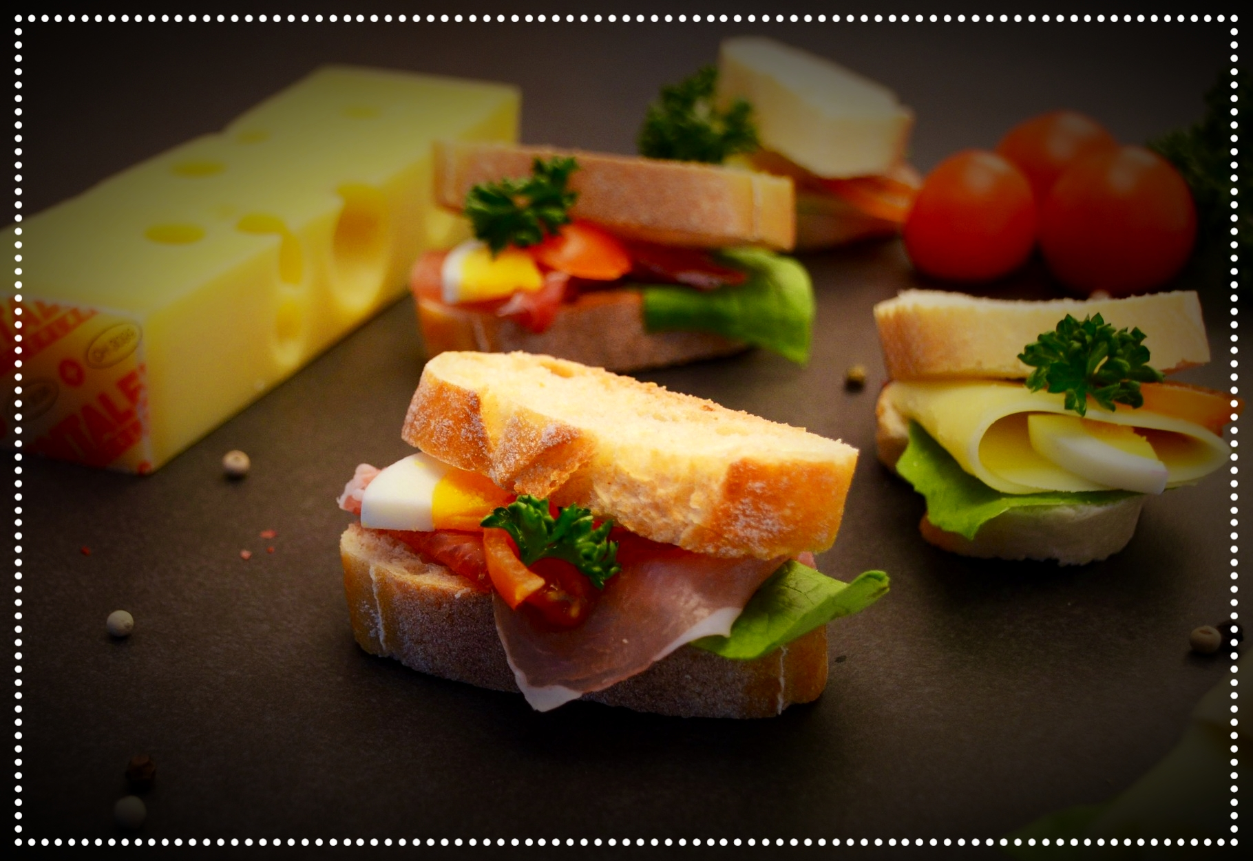 Catering-Party Sandwiches