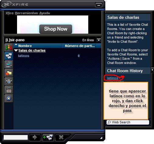 El paso chat room