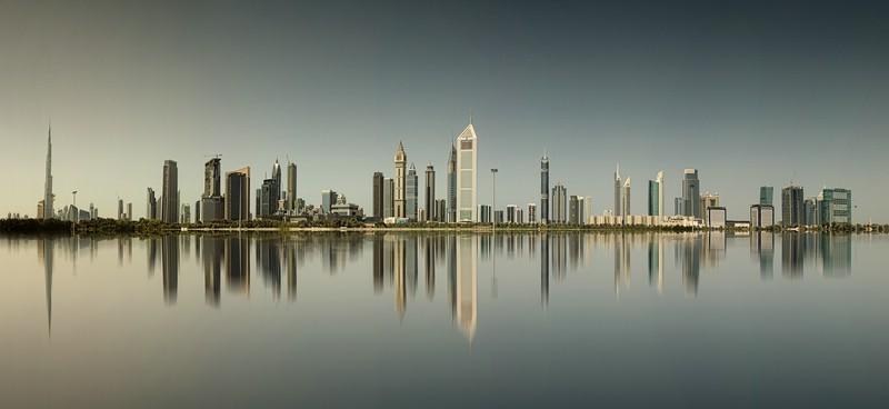Medaillenbild: Skyline Dubai - Klaus Peter Selzer