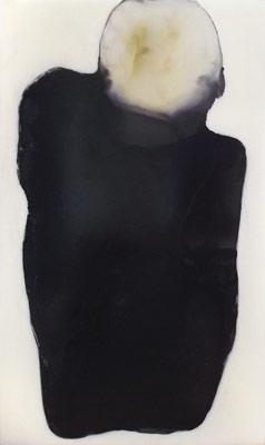 Buckliger - Lack auf Acryl - 110 x 67 cm -