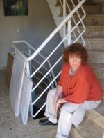 Ausstellung im Treppenhaus