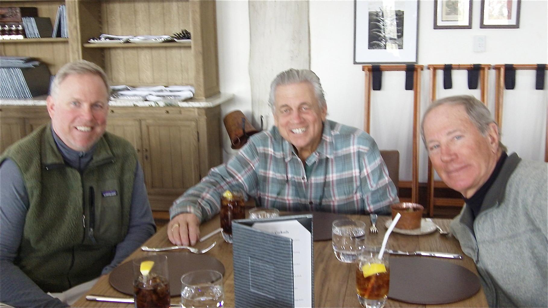 Stuart Jr, Stuart Sr., & Dick Fast