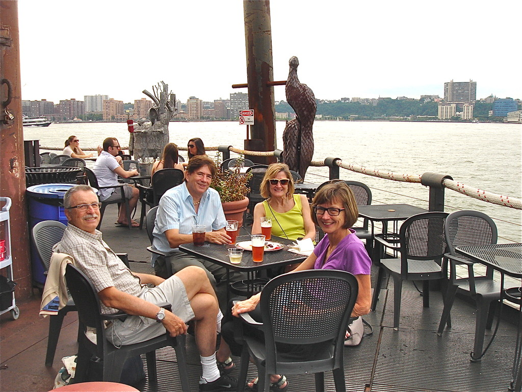 Antonio, John, Sally, & Jill at the Frying Pan 7-31-12