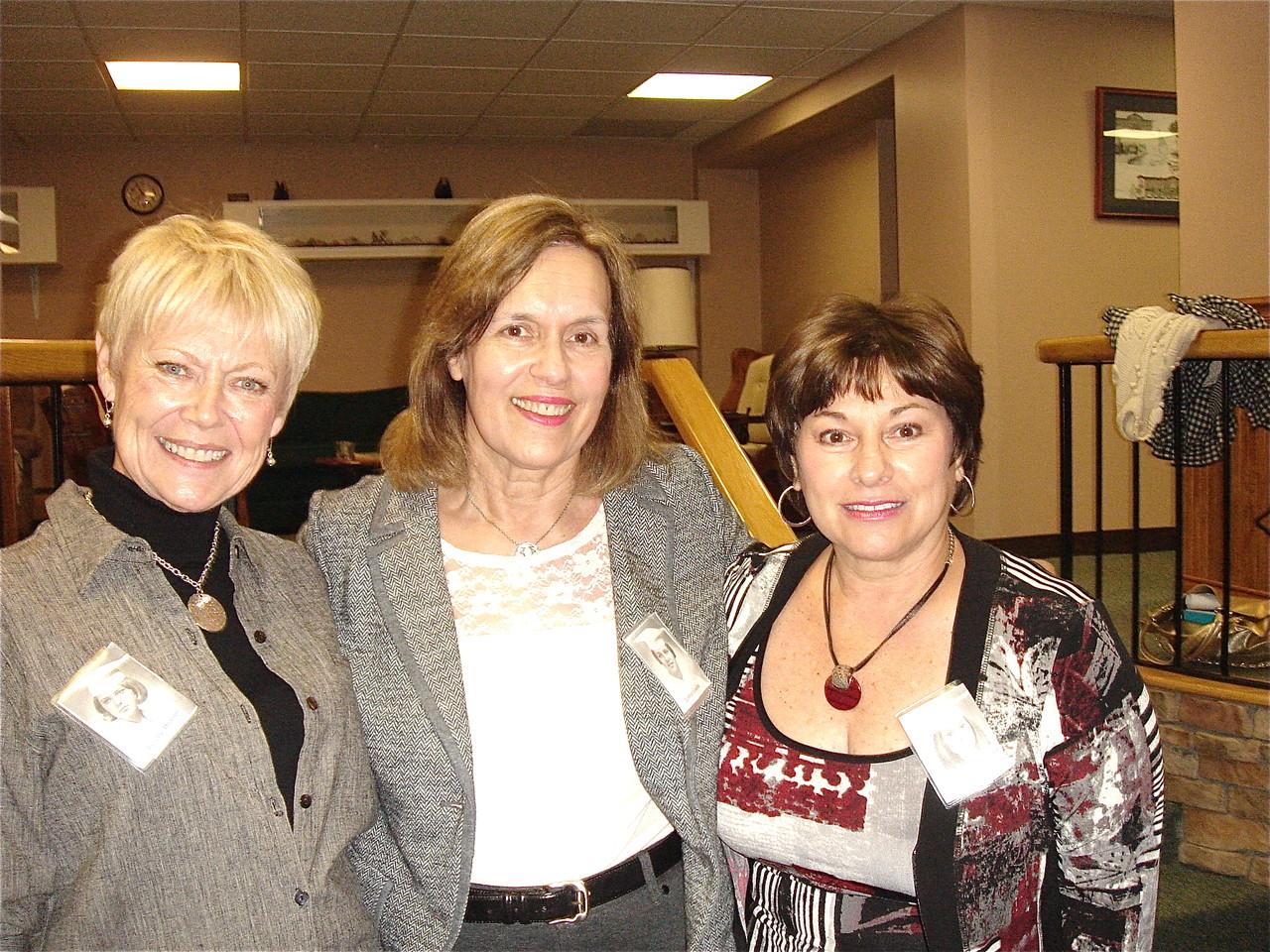 Janelle Branin, Lorraine Gudas, & Joanne Giambattista