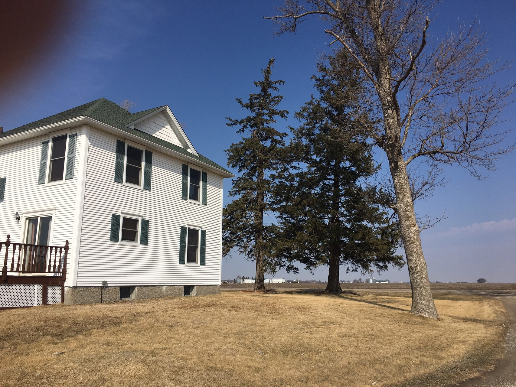House Nick and Emily are renting near Grinnell, Iowa