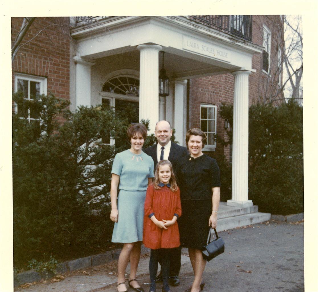 Lorraine, Celeste, Al,  & El  Smith College, 1967