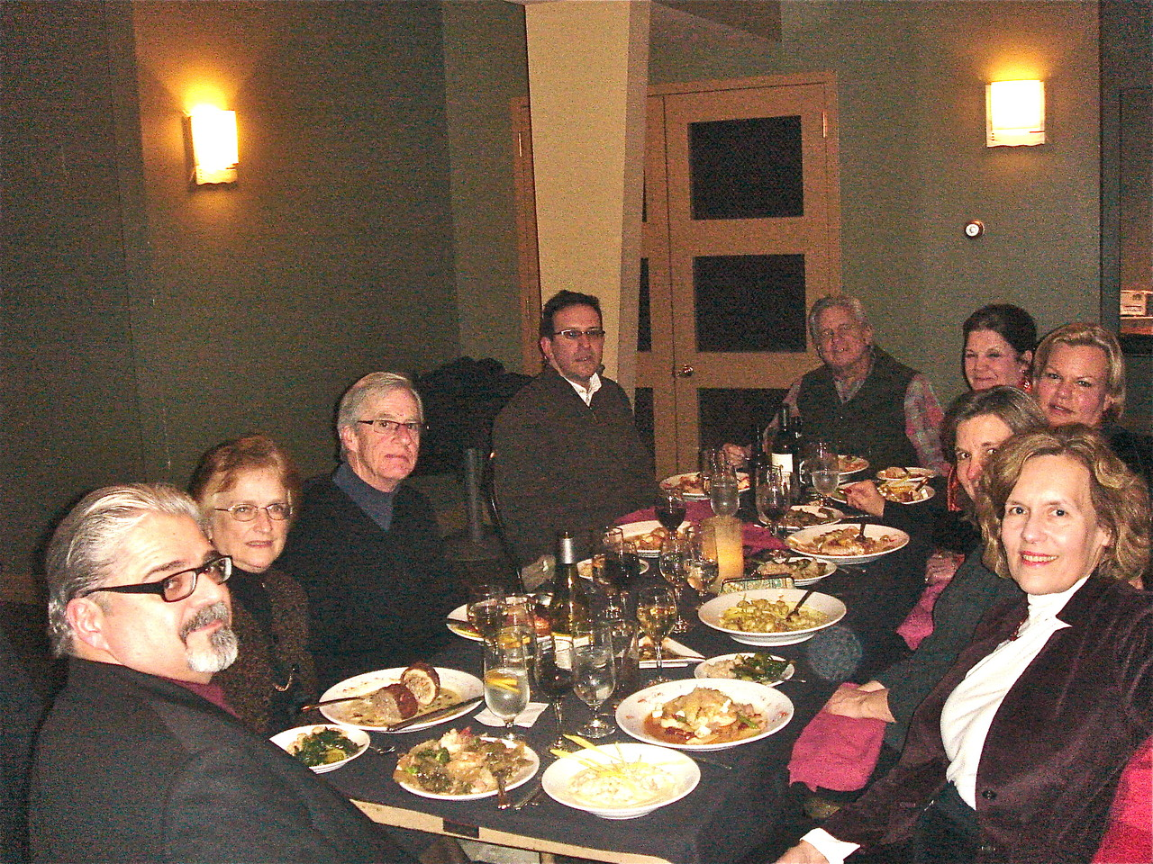 Robert Tringle, Jeanne Bednarski Sheridan, John Sheridan, Nick Signorelli, Stuart Kagel, Jean Tringle, Celeste Gudas, Cyndi Signorelli, & Lorraine Gudas