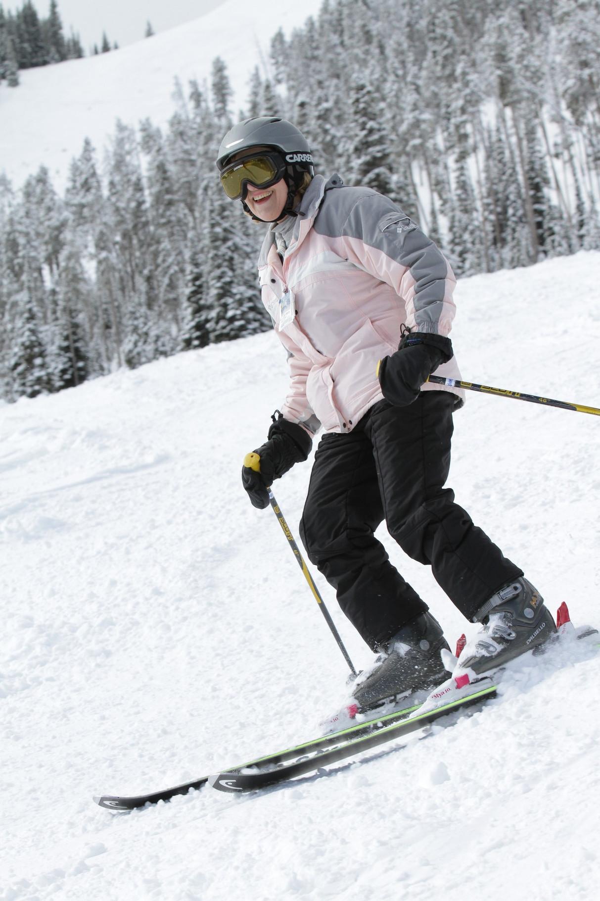 Lorraine skiing!