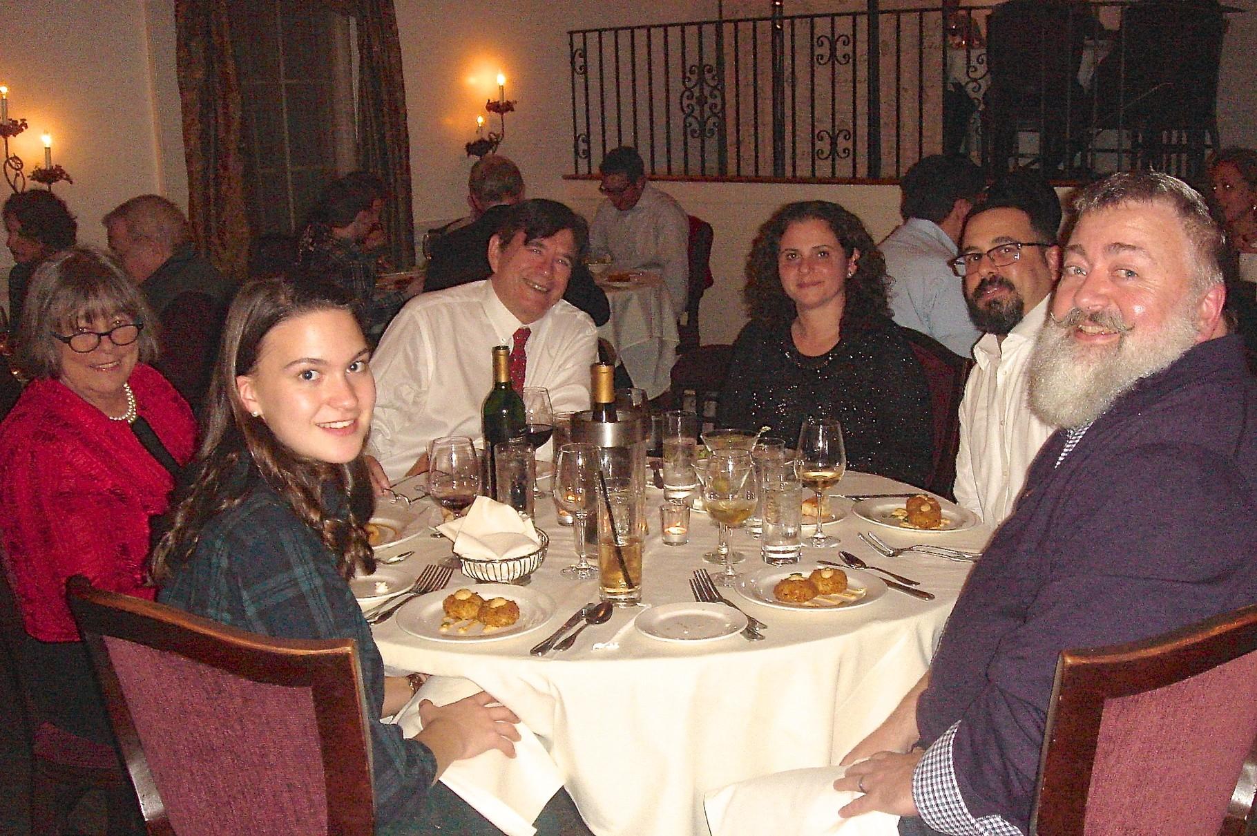 Ellie Kagel, Kathy Hutchins, John, Bevin's wife?, Colin Cherot, Matt