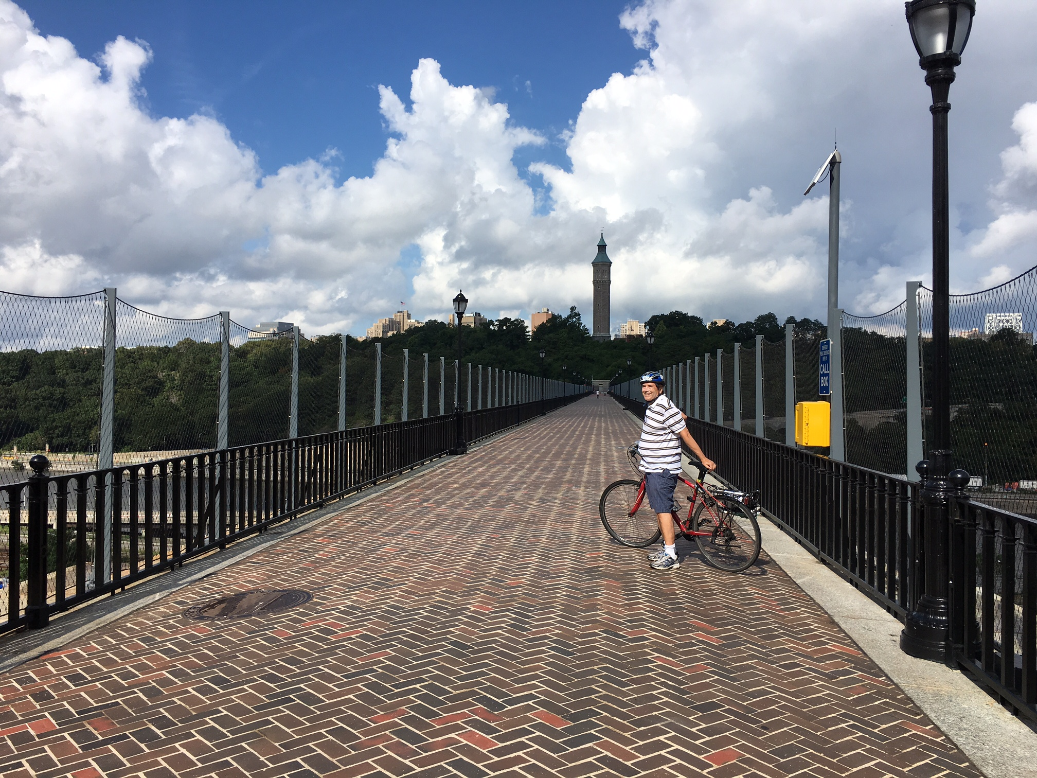 John on the High Bridge in the Bronx August 21, 2016