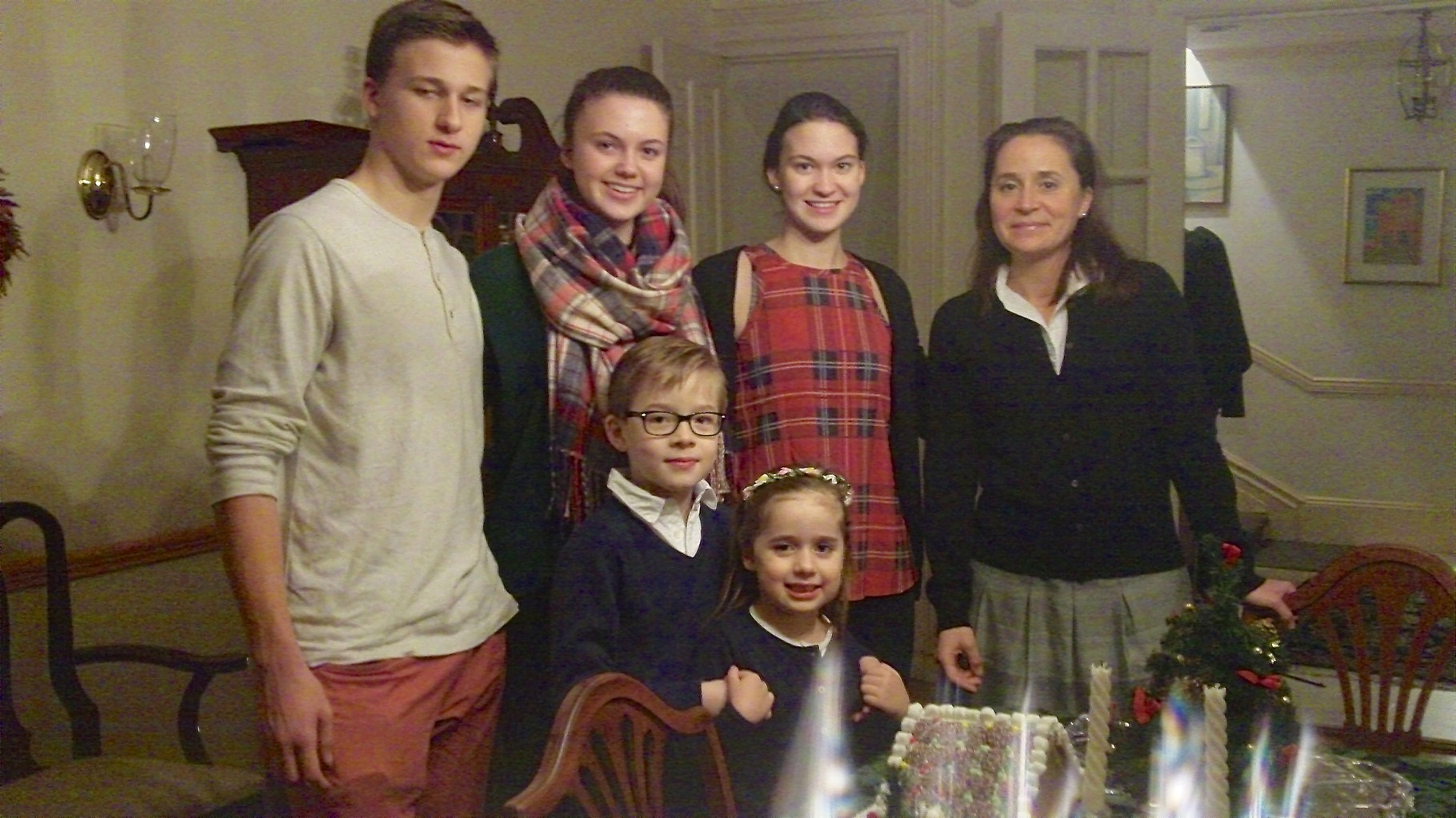 Jack, Kate, Ellie Kagel, Barbara Boylan (Jon's wife), in front Alexander & Charlotte (Jon & Barbara's children)