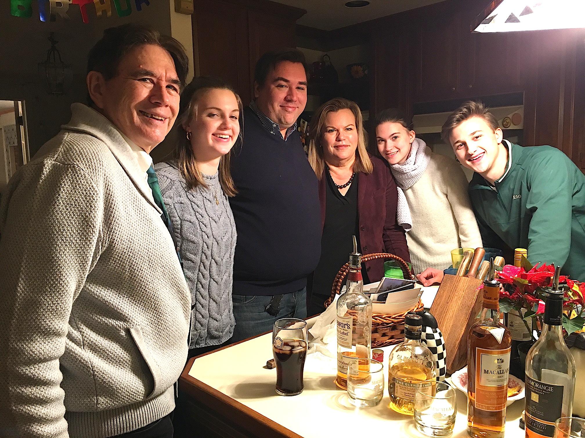 John, Kate, Greg, Celeste, Ellie, & Jack.