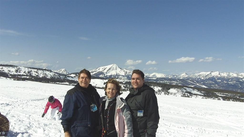 John, Lorraine, Greg