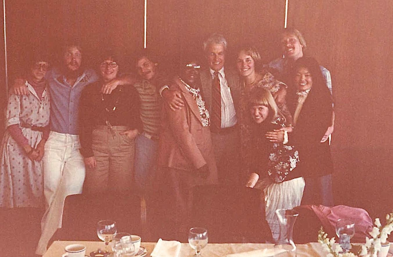 Barbara, Buddy, Mary Ann, Jim, Dorothy, Hibard, Lorraine, Shirley, ?, Bernice 1978 SF