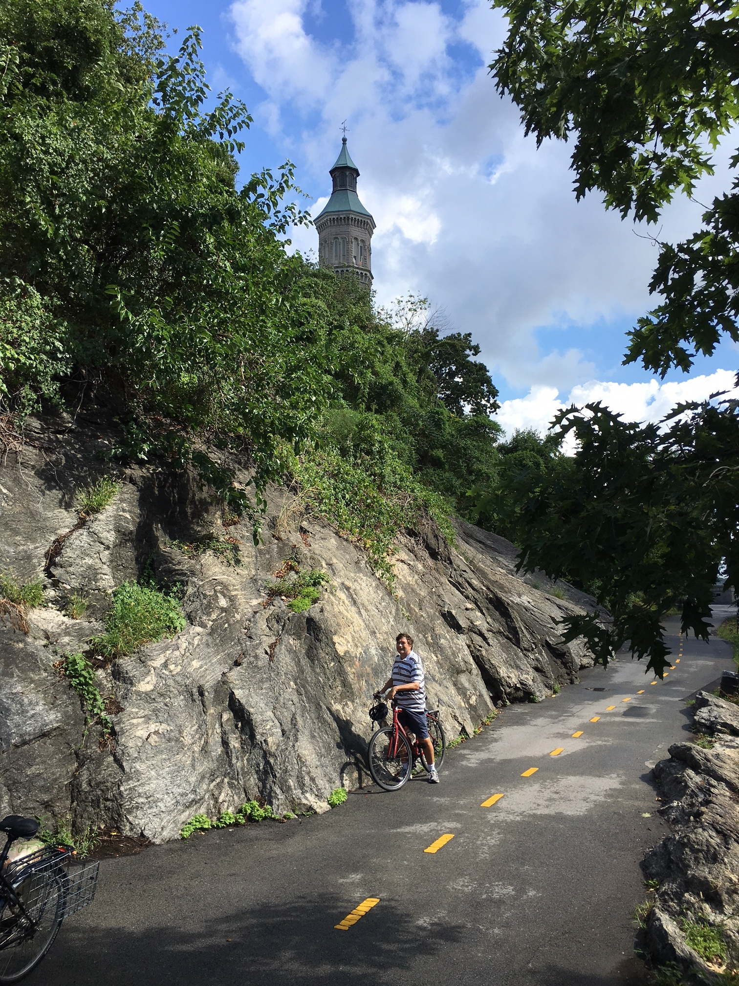 Riding in High Bridge Park, upper Manhattan
