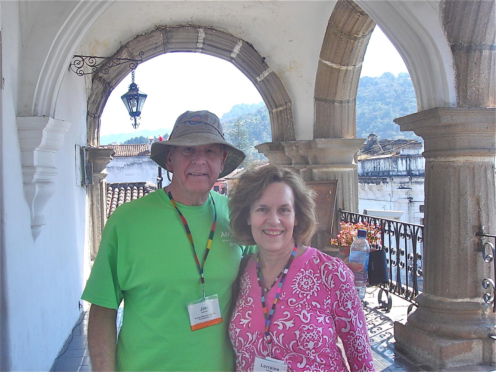 Jim Barrett & Lorraine Gudas