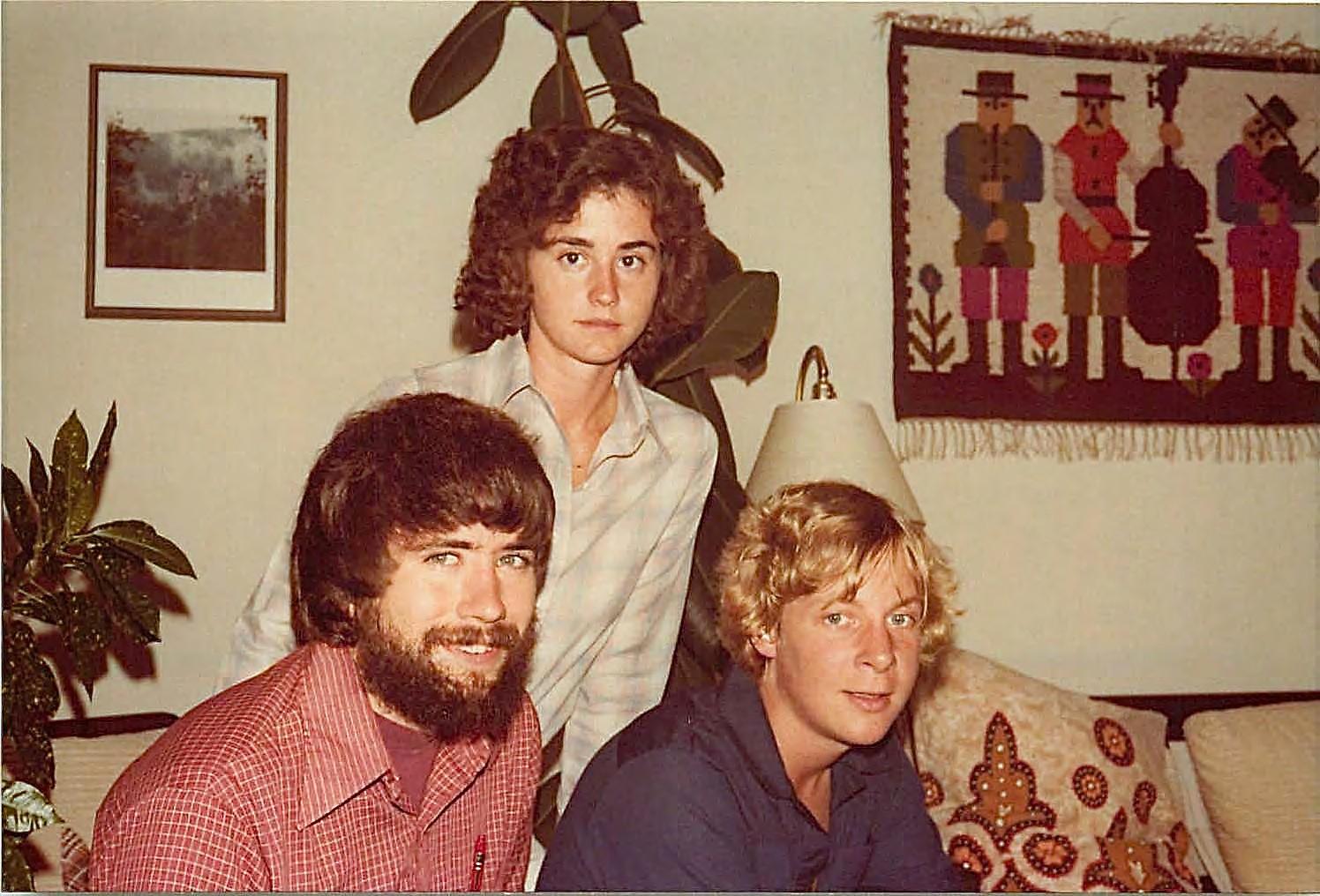 John, Ann Wagner, John Ackerman  1978 San Fancisco, CA
