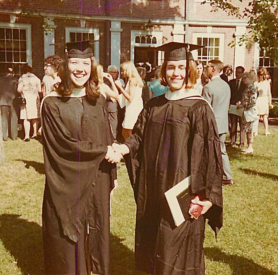 Betsy Buzash & Lorraine Gudas, Graduation from Smith College