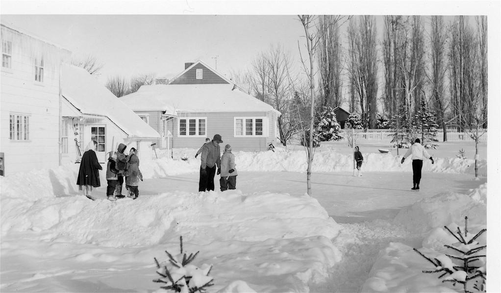 Al Gudas' Ice Rink, 1965, Syracuse, NY