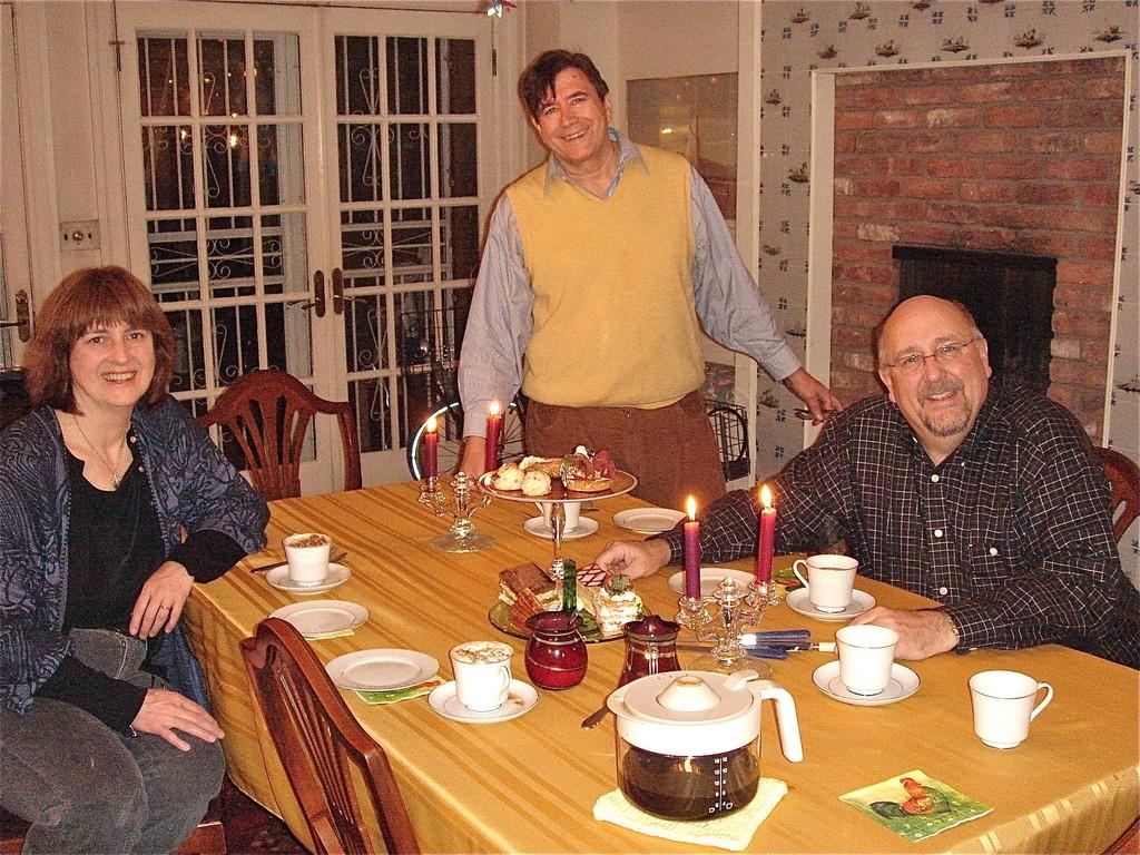 Sandra Kostyk, John, Steve Clinton  4/2012