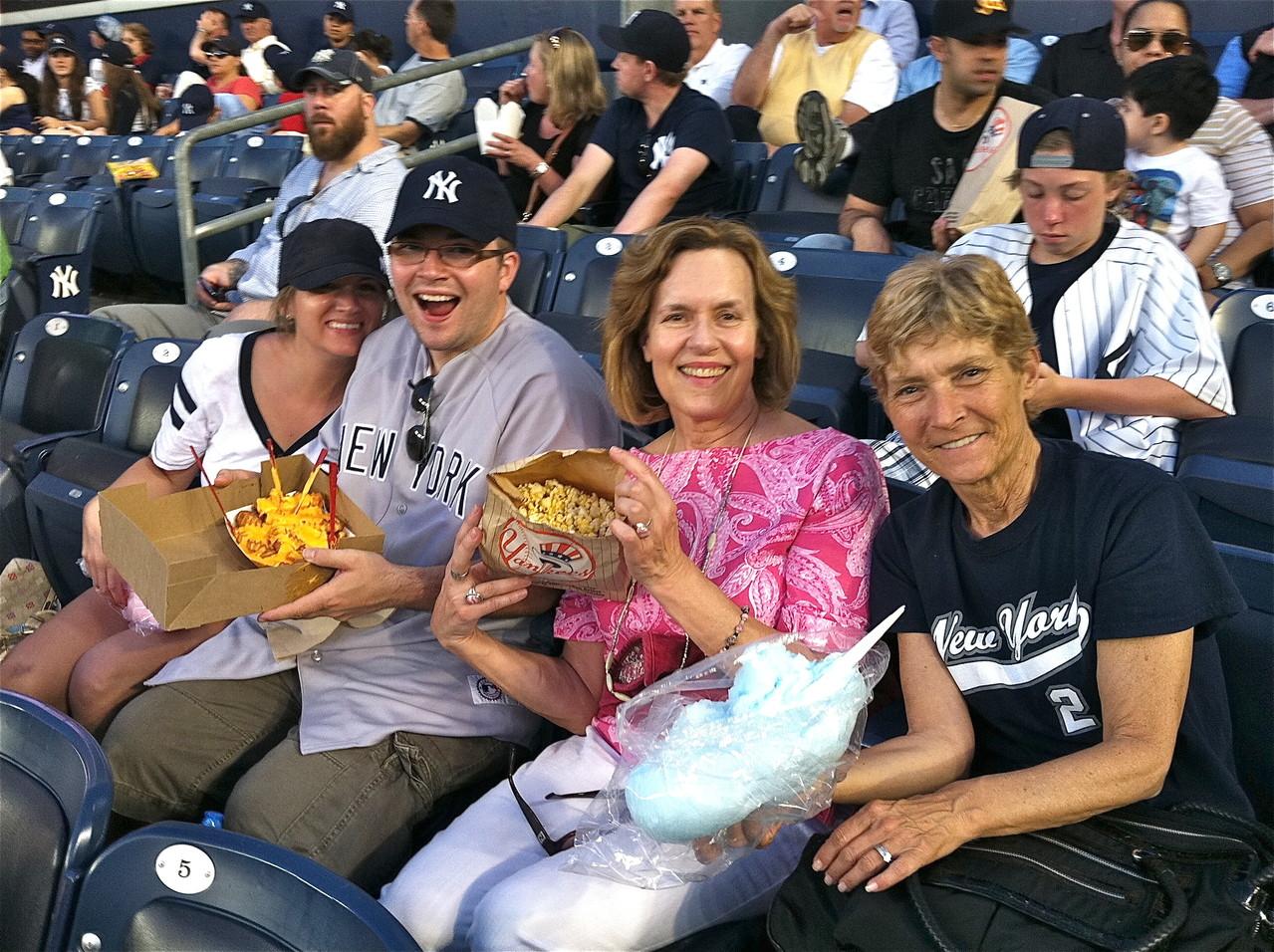 Katie, Jonathan, Lorraine, and Sue Theisen
