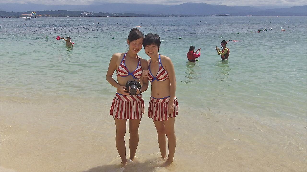 A cute pair, Sabah, Malaysia, Borneo