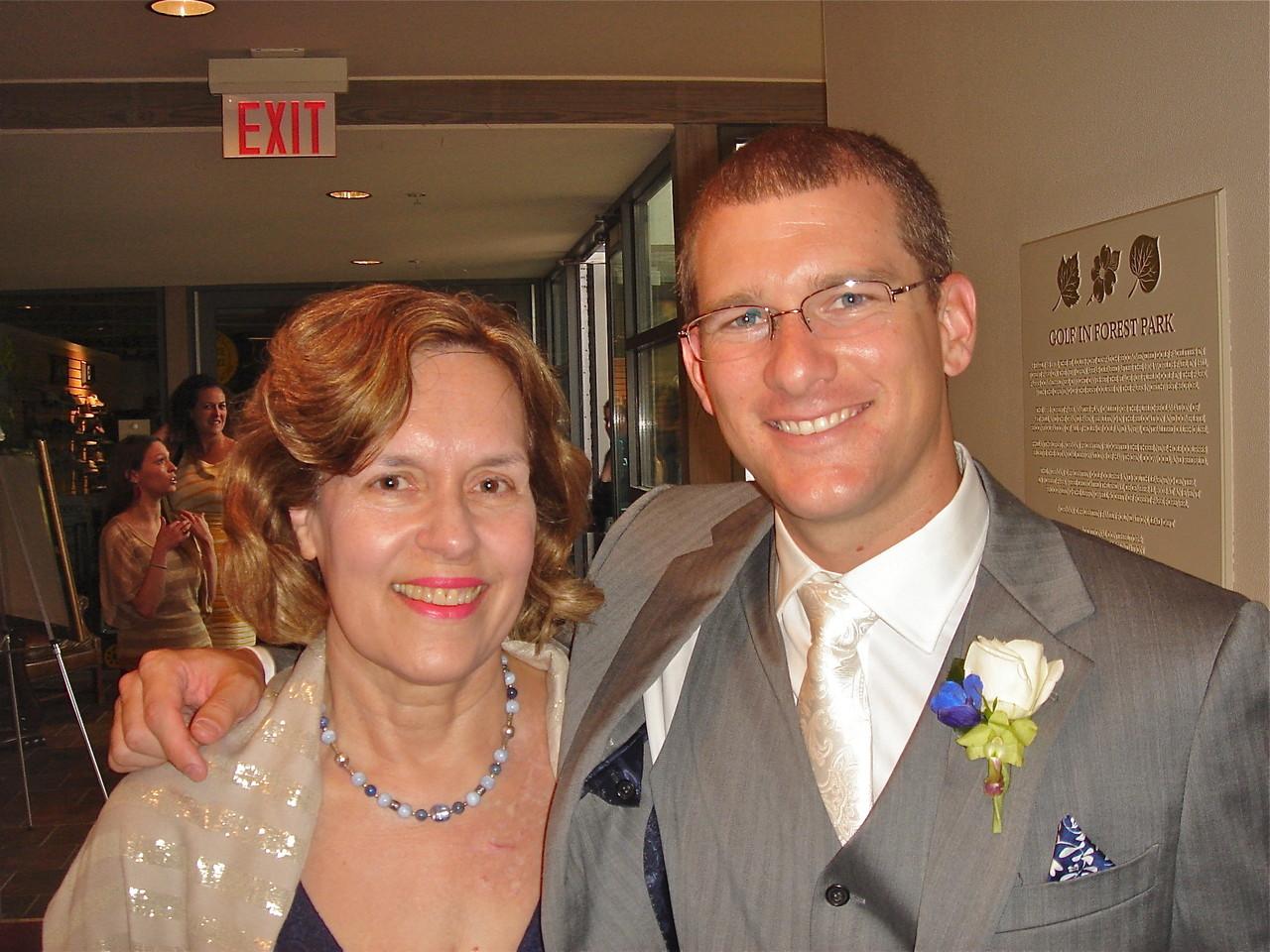 Lorraine Gudas & Corey Farabi, the groom