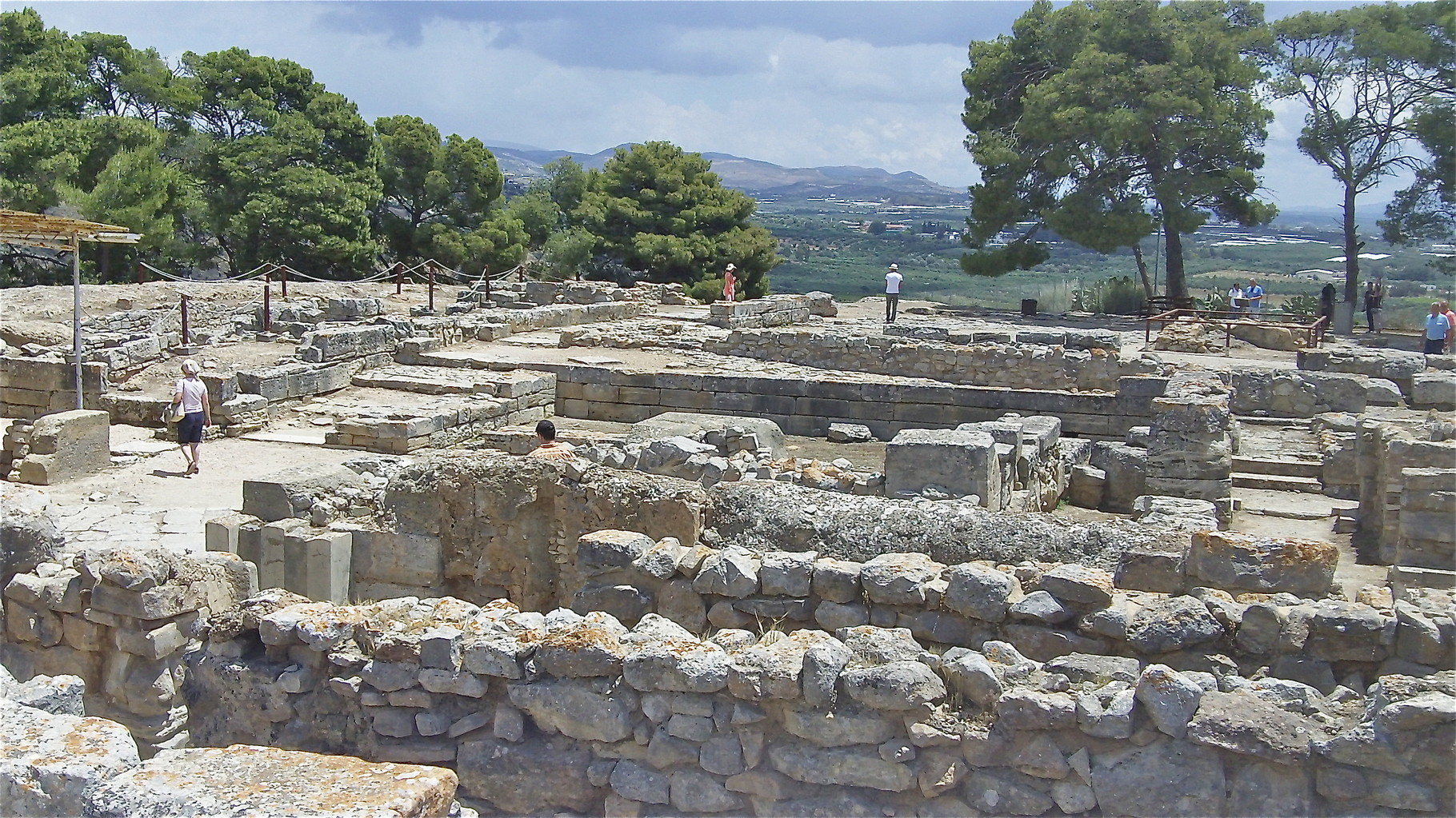 more ruins at Phaistos, Crete