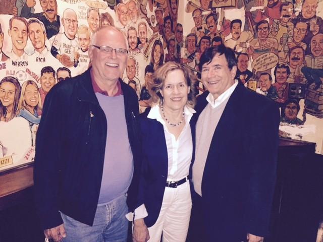 Bernd, Lorraine & John Palm 2, May, 2015