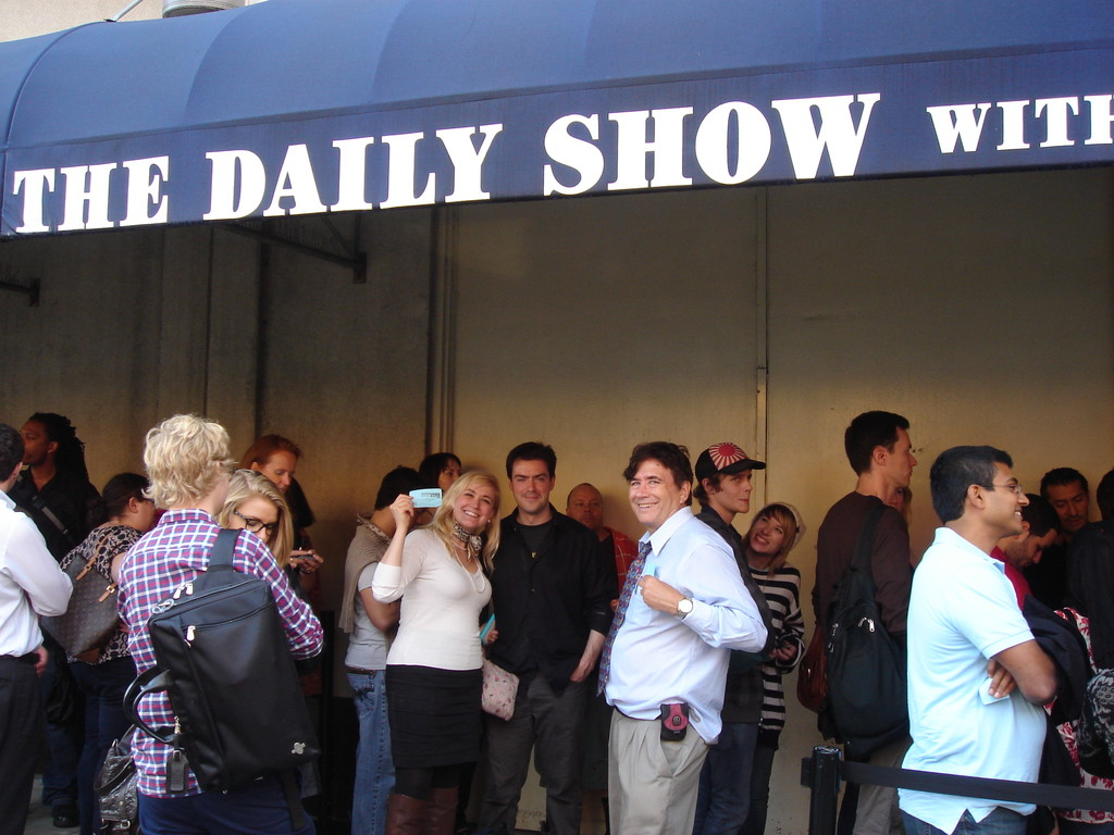 Going to the Daily Show!