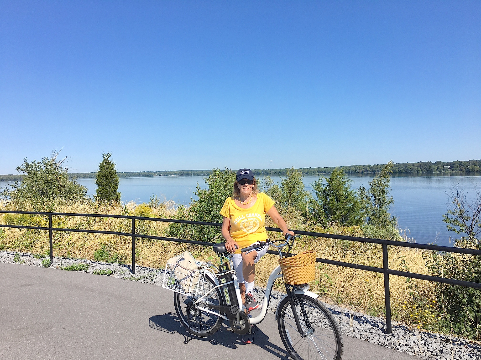 Bike trip around Onondaga Lake on the new bike path, Labor Day, 2016