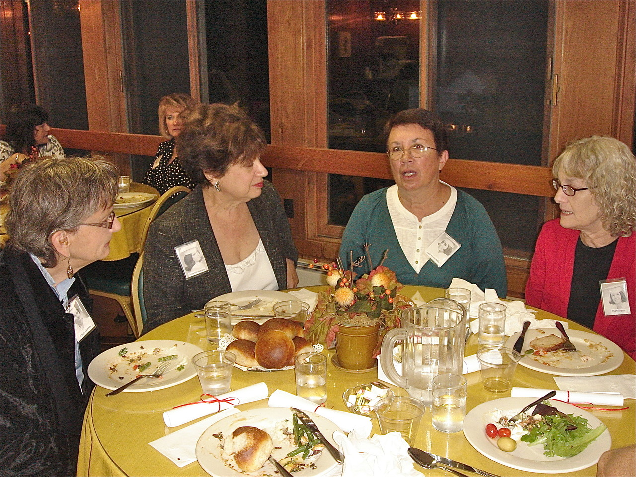 Ellen Golden, Jeanette Santaro, Gail Formichella, & Barbara Slater