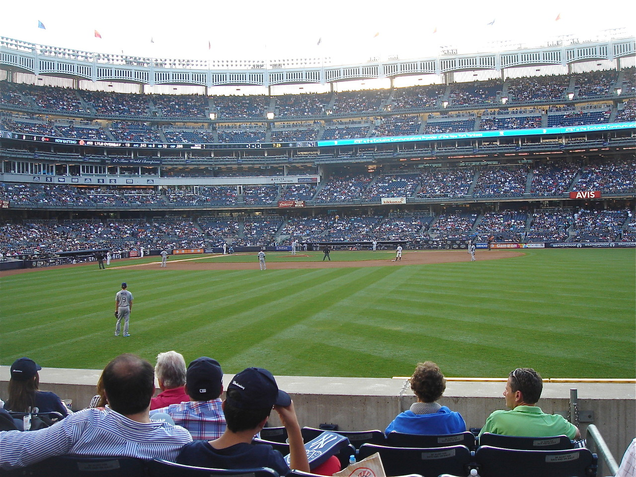 NY Yankee Game, 6-21-2013, against the Tampa Rays