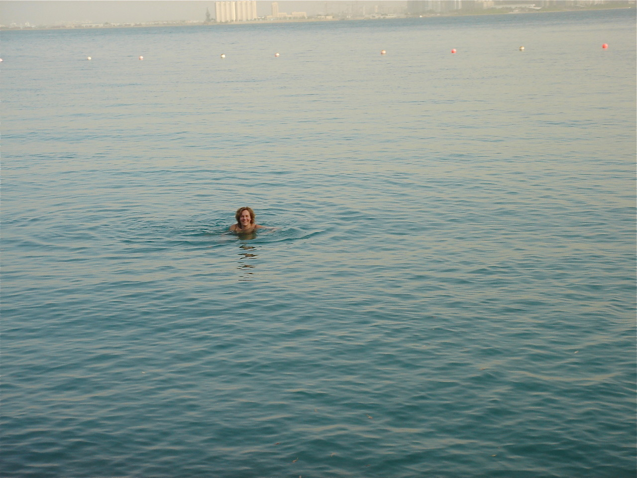 Lorraine in the Persian Gulf, Museum of Islamic Art in bkground